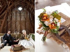 Winter Wedding Inspiration: Old English Hunting Parties