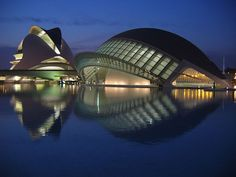 City of the Arts and Sciences  Valencia, Spain