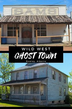 Visit the wild west ghost town in Rowley Alberta. New York Travel, Travel Usa, Places To Travel, Places To Go, Hiking Places, Canadian Travel, Canadian Rockies, Newfoundland Tourism, Alberta Travel