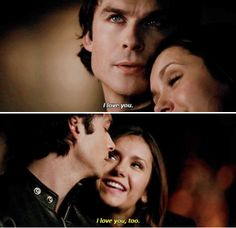 """#TVD 6x18 """"I Never Could Love Like That"""" - Damon and Elena"""