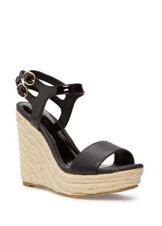 Espadrille wedge sandals $50