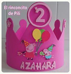 Corona cumpleaňos peppa pig #infantil #cumple #peppapig