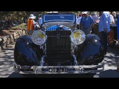 1932 Isotta Fraschini: Best of Show at 65th Pebble Beach Concours d'Elegance - Pebble Beach Week - YouTube