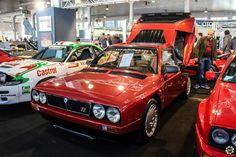 #Lancia #Delta #S4 au salon Auto e Moto d'Epoca de Padoue Reportage :  http://newsdanciennes.com/2015/10/27/grand-format-auto-e-moto-depoca-a-padoue/ #ClassicCar #Vintage #Voiture #Ancienne