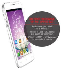 Micromax smartphone - MT500