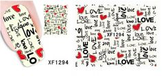 1 Sheets Cute Popular Hot Nails Art Sticker Lace Decals Easy Attach DIY Decor Style Love * Check this awesome product by going to the link at the image.