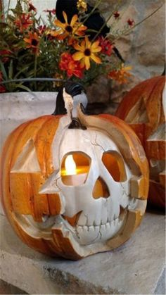 40 Creative Halloween Pumpkin Carving Ideas For Your Inspiration - Page 37 of 40 - Chic Hostess