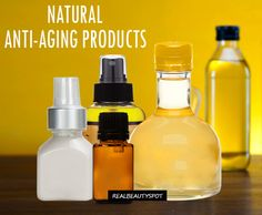 Natural anti-aging products for skin health - ♥ Real Beauty Spot ♥