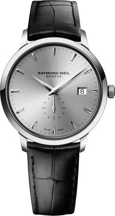 Raymond Weil Watch Toccata #bezel-fixed #bracelet-strap-leather #brand-raymond-weil #case-depth-8-29mm #case-material-steel #case-width-39mm #date-yes #delivery-timescale-4-7-days #dial-colour-silver #gender-mens #luxury #movement-quartz-battery #official-stockist-for-raymond-weil-watches #packaging-raymond-weil-watch-packaging #style-dress #subcat-toccata #supplier-model-no-5484-stc-65001 #warranty-raymond-weil-official-2-year-guarantee #water-resistant-50m
