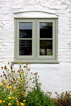 Green timber casement window | Jack Brunsdon & Son