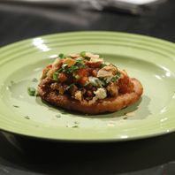 Homemade Chorizo and Potato Sopes with Roasted Tomato Salsa