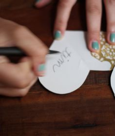 Today we thought it would be fun to share one of the smaller diy projects we made for the weekend wedding events coming up. Post Wedding, Diy Wedding, Wedding Events, Wedding Hair, Wedding Ideas, Good Excuses, Paper Doilies, Basic Shapes, Touch Of Gold