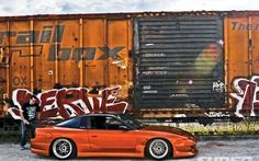 1989 Nissan 240Sx Right View