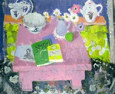 bofransson:  The Pink Table, Anne Redpath