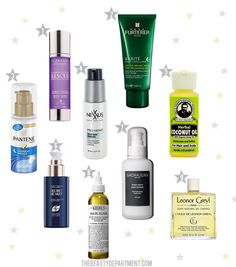 night hair treatments \\ the beauty department