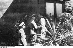 Peiper and Himmler in Metz Sept. 1940