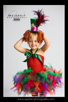 MAD ABOUT HER Alice in Wonderland Mad Hatter by goodygoodytutus, $115.00