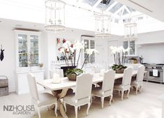 Houses & Gardens Article: A White London Mansion - NZ House & Garden