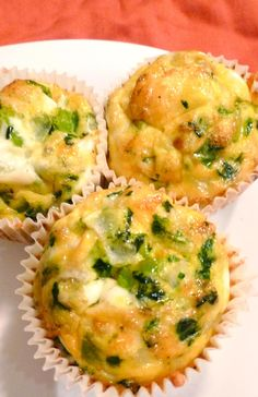 Breakfast Egg Muffins - make ahead, freeze & heat in microwave when ready to eat