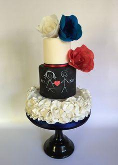 Friendship Chalkboard Cake