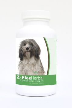 Natural Joint Support for Dogs 60 Count - Many dogs experience decreased joint flexibility and mobility as they age. The natural ingredients in Healthy Breeds Z-Flex Herbal Hip and Joint Support can help.