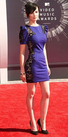 Ashley Rickards on the red carpet