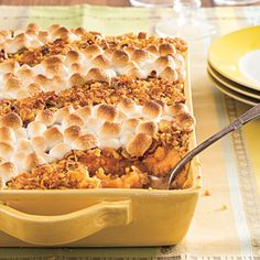 Classic Sweet Potato Casserole | Make Ahead Thanksgiving Recipes - Southern Living Mobile