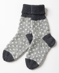 Prickiga strumpor i Novita Nalle och Novita Wool | Novita knits