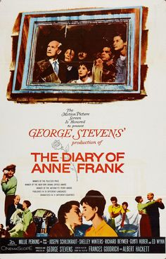 The Diary Of Anne Frank (1959) -Millie Perkins, Shelley Winters, Joseph Schildkraut, Richard Beymer, Diane Baker, Ed Wynn