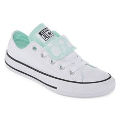 41ca80e444b4 Converse Chuck Taylor All Star Double Tongue Girls Sneakers - Little Kids Big  Kids - JCPenney