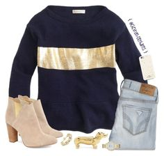 """""""✨"""" by chevron-elephants ❤ liked on Polyvore featuring J.Crew, Hollister Co., C. Wonder, Kate Spade and Cleo B"""