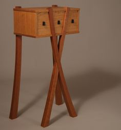 Treehouse Table (or Table X) by Joseph Murphy Furniture Maker