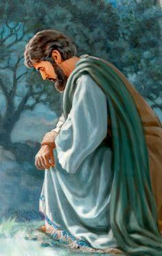 Jesús orando a su Padre[Ilustración de las páginas14 y15]