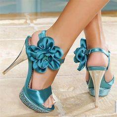 zapatos turquesas-STRIPDANCING