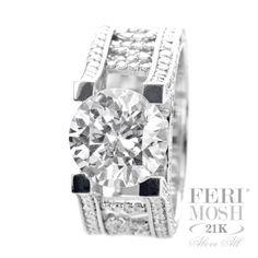 Global Wealth Trade Corporation - FERI Designer Lines Cute Jewelry, Girls Best Friend, Galleries, Wealth, Diamond Jewelry, Diamonds, Display, Stone, Ring