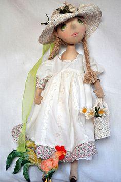 Коллекционные куклы ручной работы. Ярмарка Мастеров - ручная работа Ромашка. Handmade.