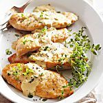 In this quick-cooking dinner, boneless chicken breasts are spiced up with lemon-pepper seasoning. Serve with rice, pilaf or pasta to round our the meal.