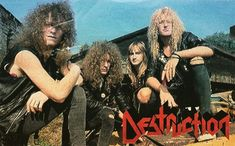 Destruction Band, The Big Four, Thrash Metal, Thrasher, Metalhead, Death Metal, Black Metal, Metal Bands, Instagram