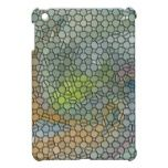 Mosaic orange iPad mini cases