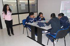 """SNCT. """"Buscadores y metabuscadores"""", alumnos de Bachillerato del Instituto Cultural Grecolatino (20 al 24 de octubre del 2014)."""
