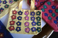 Cute Little Tote Bags- class gifts for mother's day??