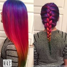 Hairstyles & Beauty — #hairartist IG: hairgeniejo created this unique...