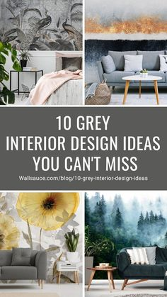 We can confidently say that grey has moved away from the stereotype of dull and cold. It has been transformed into a trend that is loved by all. So, if you're excited to update your current home with grey interior design, we have 10 juicy ideas that you can't miss! We have two types of paste the wall wallpaper: classic and premium. We also have a self-adhesive wallpaper called peel and stick. Find out more from Wallsauce! #wallpaper #wallmural #greydecor #homedecor Pink And Grey Wallpaper, Grey Marble Wallpaper, Art Deco Wallpaper, Adhesive Wallpaper, Designer Wallpaper, Grey Interior Design, Interior And Exterior, Dark Grey Walls, Pink Bedrooms