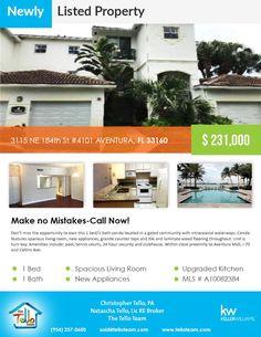 Newly listed property in #Aventura  3115 Ne 184th St Unit 4101, AVENTURA, FL 33160