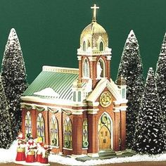 Department 56 Christmas in the City Holy Name Church
