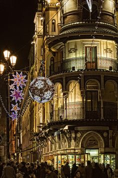 Christmas in Seville, Spain