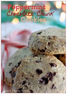 Helyn's Healthy Kitchen: Peppermint Chocolate Chunk Cookies + a Secret Ingredient!