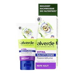 ALVERDE Natural Cosmetics Vital Night Cream Passionflower (Mature Skin 40+) 50 ml | Get Some Beauty