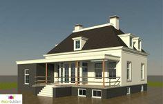 notarishuis notariswoning witte villa landelijk wonen woonsubliem