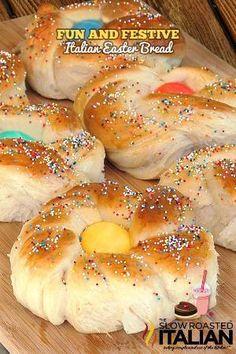 Italian Eastet bread